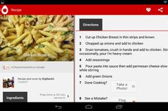 allthecooks.com Pad App, Recipe Directions, Recipe Search, Recipes, Recipies, Recipe