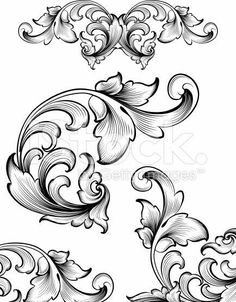 by a hand engraver. Ornate and intricate engraving designs. Intricate Flourish Set Royalty Free Stock Vector Art IllustrationAnd And or AND may refer to: Leather Carving, Wood Carving, Tattoo Crane, Baroque Frame, Gravure Metal, Motifs Art Nouveau, Filigree Tattoo, Ornamental Tattoo, Muster Tattoos