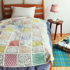 Pastel blanket @Felissimo zakka collection