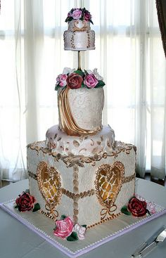 victorian inspired cake