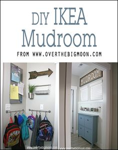 Super awesome an organized Mud room. I love the shoe and picture holder!