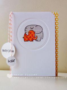 polka dot snuggly elephants (Paper Smooches)