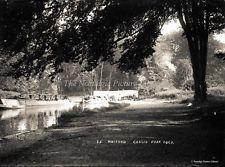 GN 157  PHOTOGRAPH BARGE & CANAL CASSIOBURY PARK WATFORD HERTFORDSHIRE c 1900 Watford, Old Pictures, Photograph, Park, Outdoor, Photography, Outdoors, Antique Photos, Old Photos