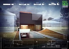 100 Mile House, render courtesy JPP Architekci / Luk Studio