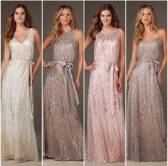 Sequin bridesmaid dresses - Weddingbee