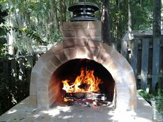 Pizza brickoven getting ready for cooking