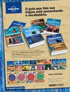 Cliente Ed. Globo Guias Lonely Planet segunda etapa Agência Globo Criações