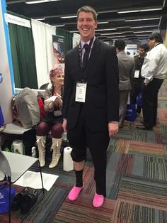 SMILE! You've got your Jellyfeet on! :) #cheesysmile #happyfeet #Chicago #MidwestPodiatryConference