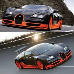 Bugatti Veyron - Complete hats off design.