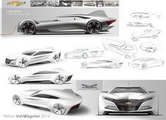 2025 Chevrolet Volt Concept by Nelson VanWagoner - Design Board