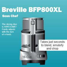 Breville BFP800XL/A Sous Chef Food Processor Review
