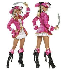 Free shipping new arrive purple sexy pirate costumes, sexy women costumes,stylish halloween apparel  YSF8897 $28.98