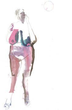 Life Drawing - Sarah Maycock Figure Painting, Figure Drawing, Painting & Drawing, Life Drawing, Figurative Art, Art Inspo, Illustrators, Illustration Art, Art Illustrations