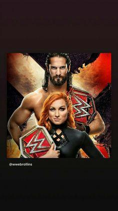 Wwe Seth Rollins, Seth Freakin Rollins, Becky Wwe, Wwe Couples, Rebecca Quin, Wwe Female Wrestlers, Wwe Champions, Wrestling Wwe, Becky Lynch