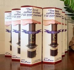 Image of Aeropress coffee maker