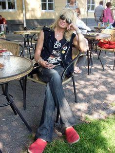 Michael Monroe of Hanoi Rocks lives in Turku
