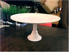 how to make DIY cake stands for under $2