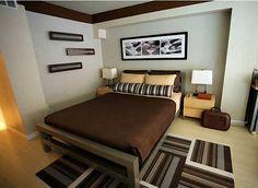 Dormitorio para hombres / Bedroom for men