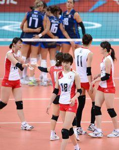 Women volley ball vs Italy
