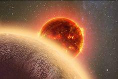 NOVO VIZINHO - Cientistas descobriram um exoplaneta rochoso, chamado GJ 1132b, orbitando uma pequena estrela a apenas 39 anos-luz de distância da Terra, e com tamanho semelhante ao do nosso planeta. Exoplaneta é o nome dado para os planetas que orbitam uma estrela que não seja o Sol, pertencendo então a um sistema planetário distinto do nosso. O GJ 1132b é o exoplaneta mais próximo e mais parecido com a Terra já encontrado. Ele está três vezes mais perto do nosso planeta do que qualquer…