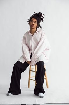 Luka Sabbat photographed by Victoria Stevens and styled by Rika Watanabe for the latest issue of Flaunt magazine.
