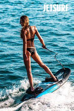 Riding JetSurf in the Mediterranean. Having fun with friends. MotoSport. Water Toys. Jet Surf, Motosport, Water Toys, Surf Girls, Sport Girl, Water Sports, Have Fun, Surfing, Around The Worlds