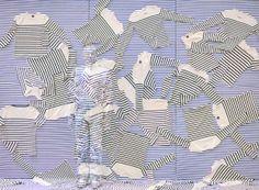 Jean Paul Gaultier by Liu Bolin, lost in fashion
