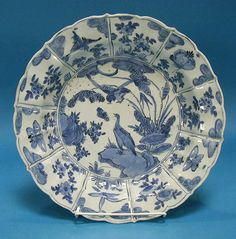 VERY RARE KRAAK PORCELAIN CHARGER WAN LI, JINGDEZHEN, CHINA, C1575-1605 *Click to read about the history and see more detailed images*