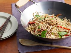 No-Pain Lo Mein Recipe : Rachael Ray : Food Network - FoodNetwork.com || I just made this and it was pretty good.. I feel like I found a replacement for take. =)