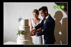 Maggie and Jake cut their lovely succulent adorned wedding cake at their @villaantonia wedding reception! Photo by @hydeparkphoto. See much more at http://www.hydeparkphoto.com/?s=maggie ||| Austin weddings, Austin wedding photographers, Texas wedding photographers, Austin wedding venues, Austin wedding venues outdoors, Austin wedding chapels, Villa Antonia, Hyde Park Photography, wedding blog, wedding ideas, wedding cake, succulent wedding cake, naked wedding cake, Theia Bridal