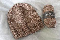 Tuto : tricoter un bonnet (aiguilles n°10)