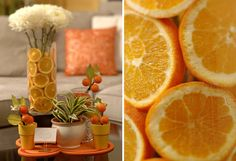 Citrus Twist Party Decor