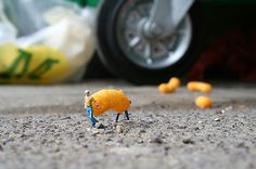 "Little People Project"" de Slinkachu"