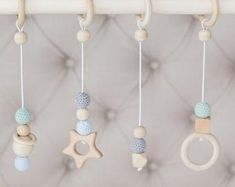Disassembled wooden baby gym, activity center, baby activity gym,no hangers, only frame + three wooden rings Gifts For New Moms, New Baby Gifts, Scandinavian Nursery Decor, Baby Activity Gym, One Month Baby, Play Gym, Newborn Baby Gifts, Wooden Rings, Activity Centers