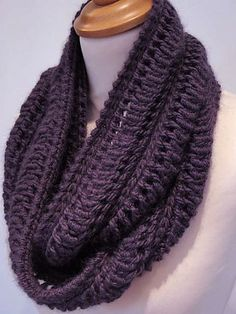 ravelry.com free infinity scarf pattern | ... but it's knitting! Edie Infinity Scarf (free) by Jeanette Sloan