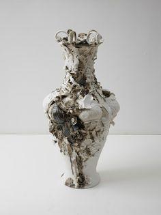 Arlene Shechet . swan vase, 2013