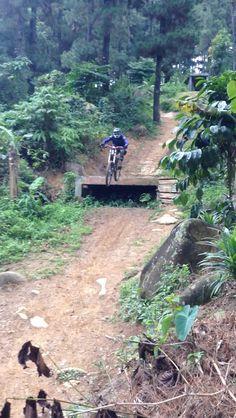 Sebex downhill park bogor, indonesia #mtb #downhill #indonesia