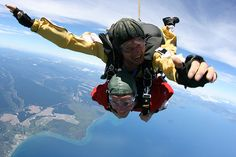 Day 99: Skydive Taupo, Taupo, New Zealand #100daysproject