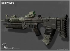 Killzone, Reno Levi on ArtStation at… Sci Fi Weapons, Fantasy Weapons, Weapons Guns, Survival Weapons, Robot Concept Art, Weapon Concept Art, Future Weapons, Tactical Equipment, Futuristic Art
