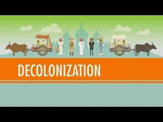 Decolonization and Nationalism Triumphant: Crash Course World History Watch in conjunction with or after colonization. Week 7 - Week 8 but really at anytime as we talk about imperialism. Crash Course World History, Ap World History, History Channel, European History, Women In History, History Books, World War Ii, American History, History Posters