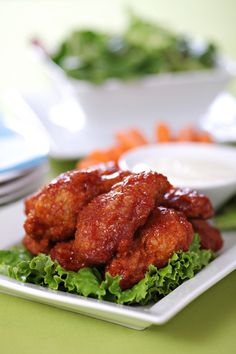 Buffalo Salsa Chicken Wings | Recipe International