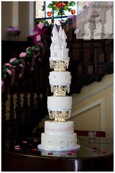 Fairytale wedding cake