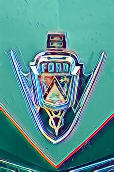 Stephanie Ford Digital Art Photography: Etsy shop https://www.etsy.com/listing/615760370/vintage-ford-ford-cars-abstract-art-art