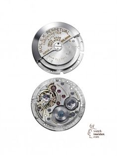 The first Rolex movement with Perpetual rotor from 1931