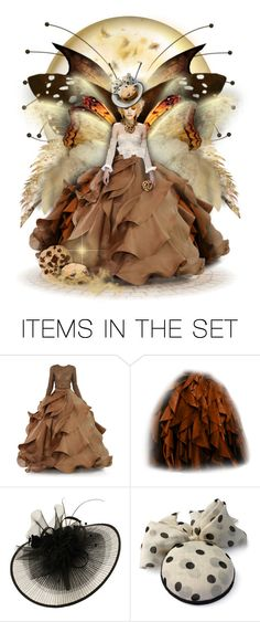 """""""Chocolate Chip Cookie Fairy"""" by helenehrenhofer ❤ liked on Polyvore featuring art"""