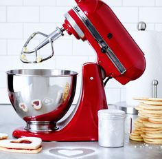 No registry is complete without a KitchenAid mixer. What color would you pick?