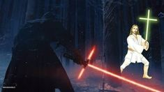 See more 'Crossguard Lightsaber' images on Know Your Meme!