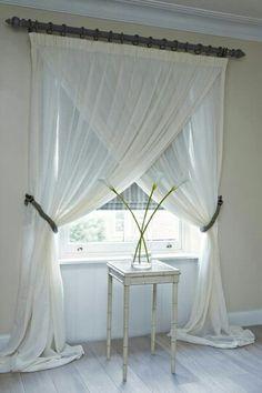 Idea para colocar la cortina