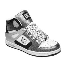 These DC Shoes Women's Rebound HI SE are perfect for the skater girl that loves fashion too! $74.97 http://sneakerking.com/womensreboundhise.aspx