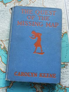 The Quest of the Missing Map... the 19th volume in the Nancy Drew Mystery Stories series, first published in 1942